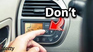 This Will Destroy Your Car's AC System