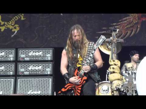Black Label Society - Concrete Jungle - Milan 2012 Gods of Metal