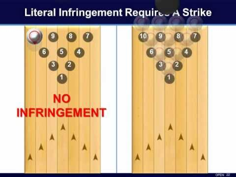 Literal Infringement Requires a Strike