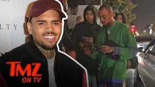 Chris Brown's Temper Heats Up With Valet | TMZ TV