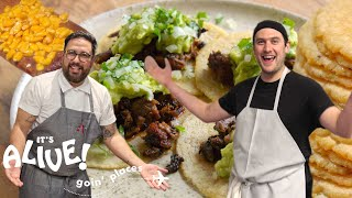 Brad Makes Tortillas | It's Alive: Goin' Places | Bon Appétit