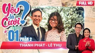 A romantic marriage proposal touches all the audiences's heart | Thanh Phat - Le Thu | YLC #01