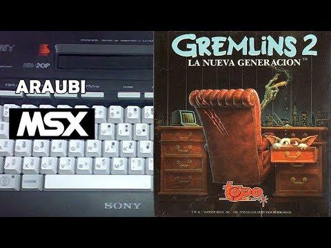 Gremlins 2 (Topo Soft, 1990) MSX [299] Walkthrough Comentado