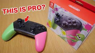 SHOULD YOU BUY?|Nintendo Switch Pro Controller