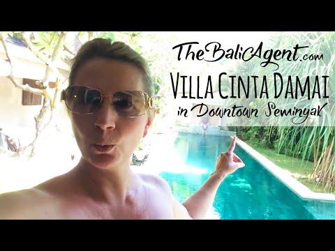 Luxury Villa Cinta Damai in the Heart of Seminyak - Booked via TheBaliAgent.com