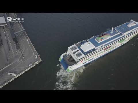 MoorMaster™ automated mooring at Port of Helsinki RoPax terminal