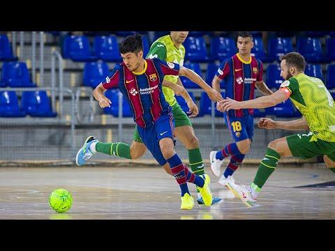Barça - Inter FS Cuartos de Final Partido 1 Temp 20-21
