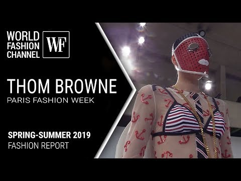 THOM BROWNE | PFW spring-summer 2019 | Report