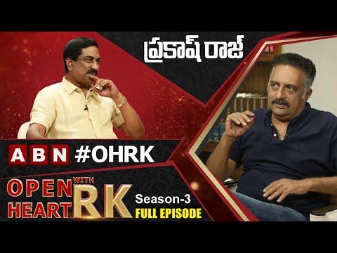 Prakash Raj 'Open Heart With RK'- Full Episode