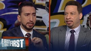 Chiefs can beat the Ravens in playoffs, Garrett can't save Cowboys job | NFL | FIRST THINGS FIRST