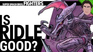 Is Ridley GOOD in Super Smash Bros Ultimate?