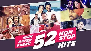 """""""High Rated Gabru 52 Non-Stop Hits"""" 