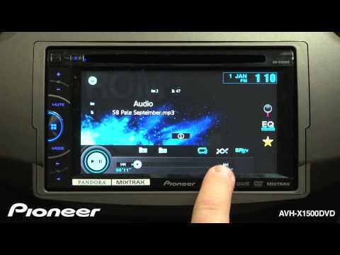 Baixar How To - AVH-X1500DVD - MP3 & WMA Playback