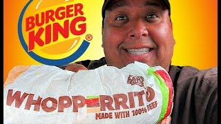 "BURGER KING® ""WHOPPERRITO""™ Review!"