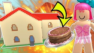Roblox: CAN THIS CAKE BLOW UP A HOUSE?!? - DESTRUCTION SIMULATOR [3]