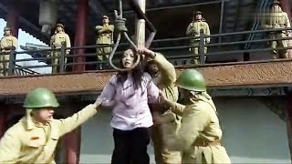 When the beauty was about to be beheaded by Japanese army,  Chinese army came to save her