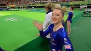 Amy Tinkler GBR Qual Fx Olympics Rio 2016