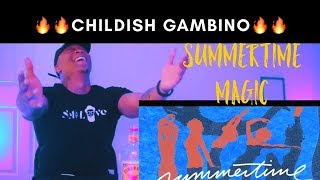 Childish Gambino - Summertime Magic (REACTION!!)