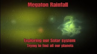 Megaton Rainfall: Exploring Our Solar system with explosive ending