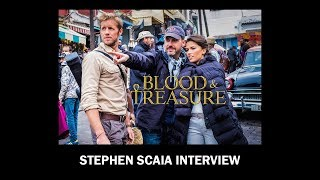 Stephen Scaia talks Blood and Treasure on CBS