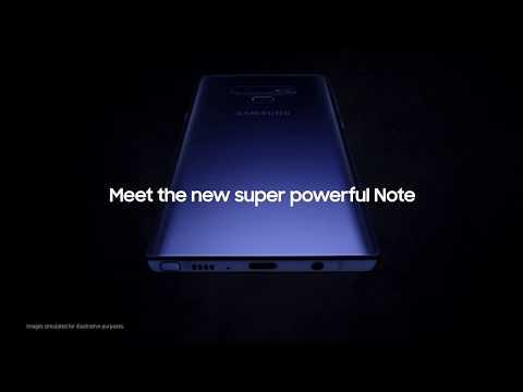 Den kraftfulde nye Note