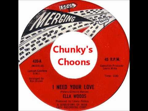 Ella Woods -  I Need Your Love