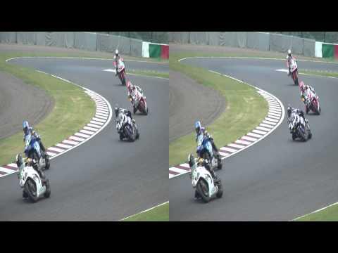 2013年鈴鹿8耐決勝、S字カーブ(yt3d)Suzuka8Hours