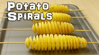 Spiral Potato - Chip on a Stick Life Hacks