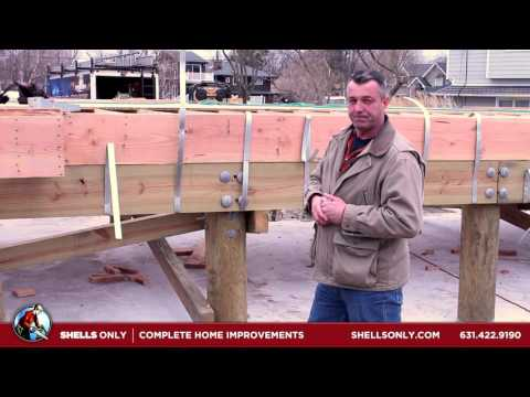 New Construction Hurricane Strapping | Shells Only Complete Home Improvements