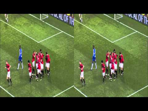 Manchester United vs Wigan Goals 3D