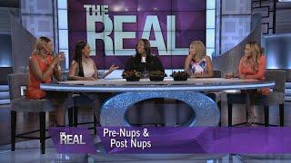 """The Real"" Ladies Talk Pre-Nups & Post-Nups"