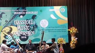 Pandit Ajay Chakrabarty (@ Rabindra Sadan, Classical Music Conference 2018) - YouTube