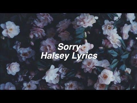 Sorry || Halsey Lyrics