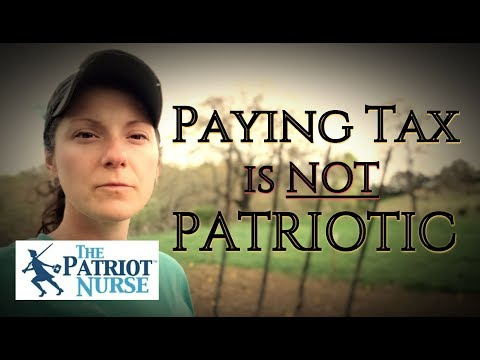 Being a Good Little Taxpayer is NOT Patriotic!