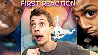 First Reaction to Kanye West & Kid Cudi - KIDS SEE GHOSTS (Self Titled) + Review