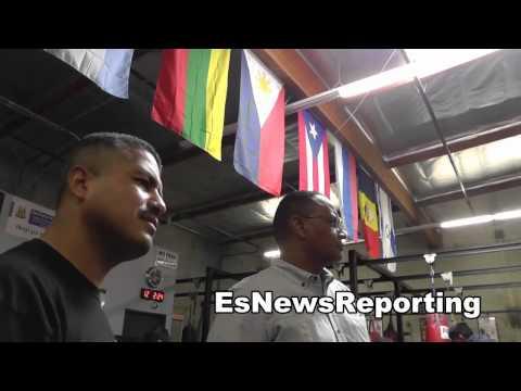 juan manuel marquez vs mike alvarado robert garcia breaks it down EsNews Boxing