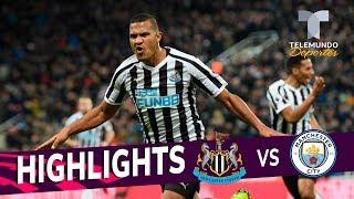 Newcastle vs. Manchester City: 2-1 Goals & Highlights | Premier League | Telemundo Deportes