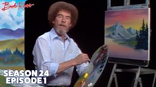Bob Ross - Gray Mountain (Season 24 Episode 1)