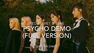 Red Velvet 'Psycho' DEMO (FULL VERSION) | English Lyrics