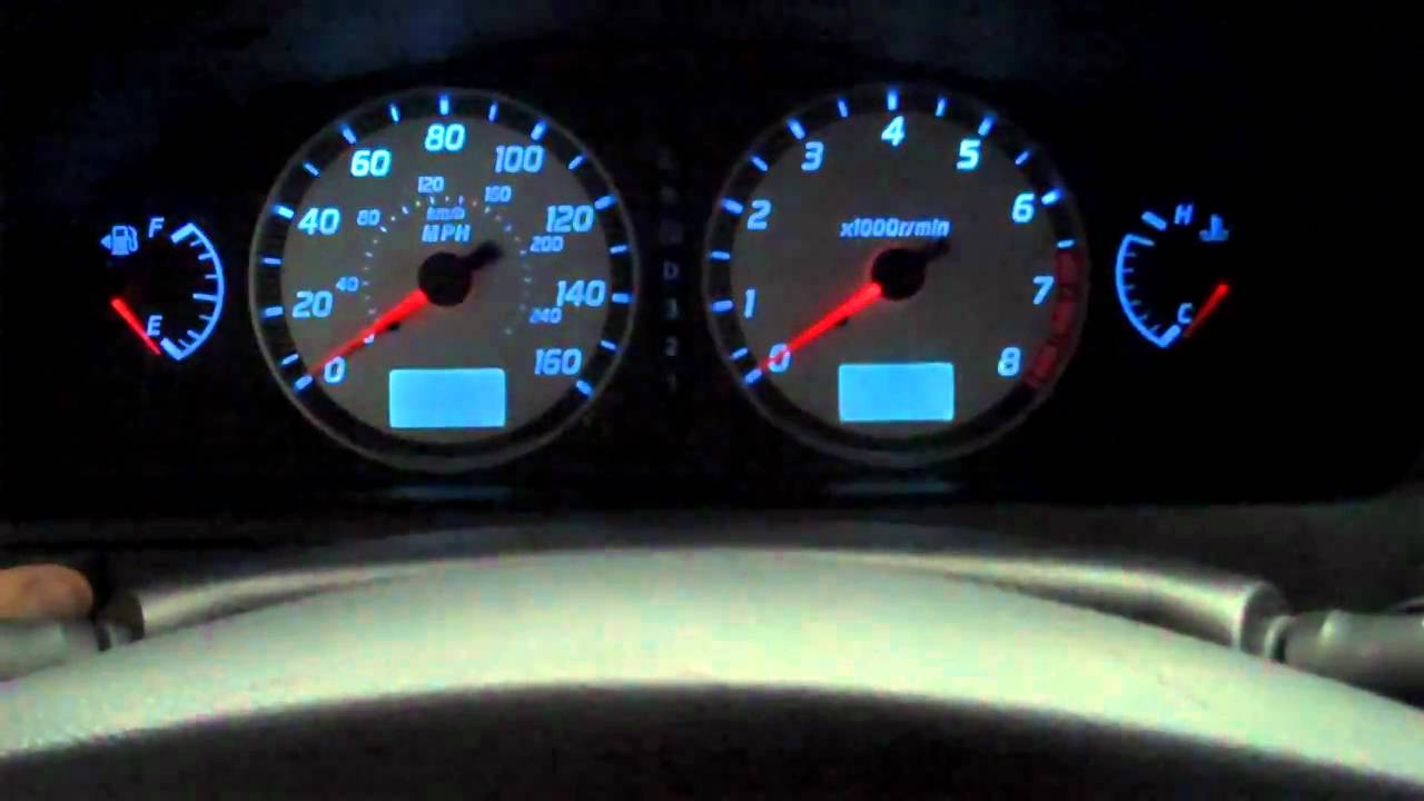 Drop In Led Cluster Lighting 2002 Maxima Se Youtube