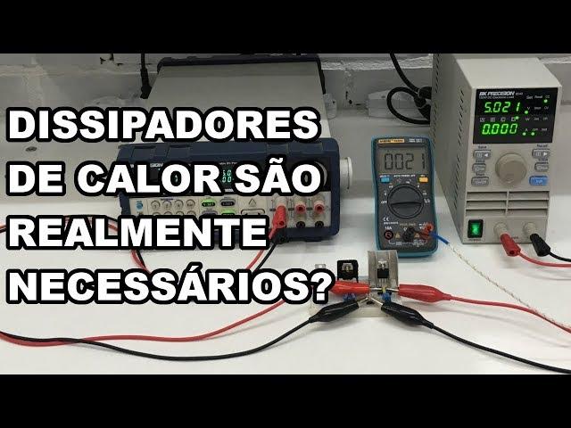 ERRO COMUM AO UTILIZAR DISSIPADOR EM REGULADOR DE TENSÃO