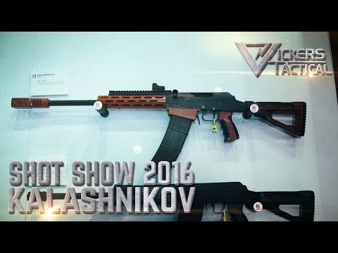 Shot Show 2016: Kalashnikov USA