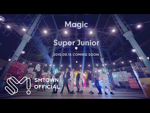 SUPER JUNIOR 슈퍼주니어 'Magic' MV Teaser