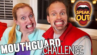 Mouthguard Challenge Extreme GROSS Food Game || Family Game Night