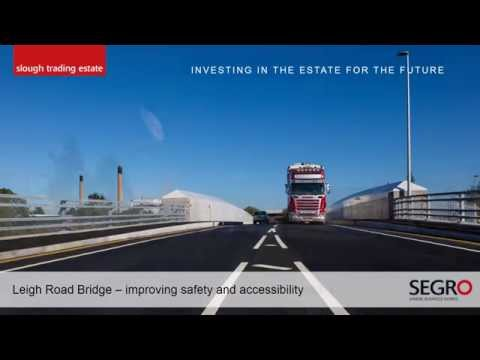 Leigh Road Bridge event presentation