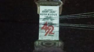 LIVE Video Mapping HUT Ke-472 Kabupaten Kudus