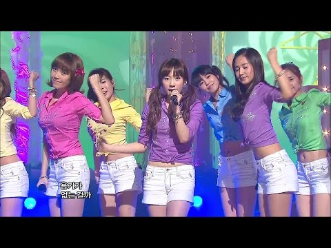【TVPP】SNSD - Gee, 소녀시대 - 지 @ Goodbye Stage, Show Music Core Live
