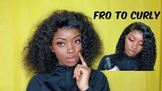 How To Style Curly  Bob | Recool Hair | Queen Pokoo