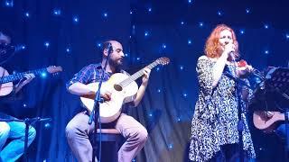 Afentoula Razeli - Πόσο λυπάμαι & Βαριέμαι - Αφεντούλα Ραζέλη & Τρίο Κατάρα live 2020 (Το μπαράκι της Διδότου)