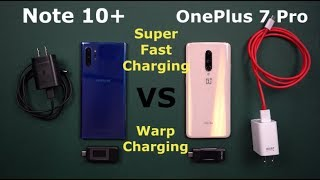 Samsung's Super Fast Charging VS OnePlus Warp Charging | ONE PUTS THE OTHER TO SHAME